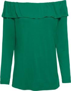 Bluzka bonprix BODYFLIRT w stylu casual z długim rękawem