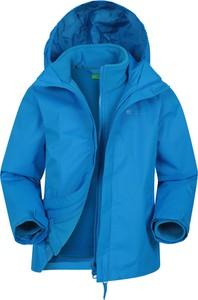 Niebieska kurtka dziecięca Mountain Warehouse dla chłopców