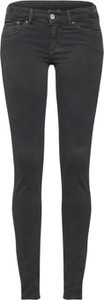 Czarne spodnie Pepe Jeans z bawełny