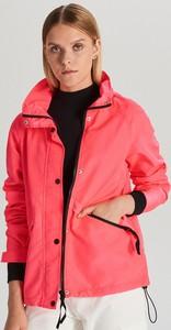 Różowa kurtka Cropp w stylu casual krótka