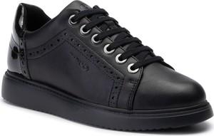 Sneakersy Geox ze skóry ekologicznej