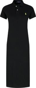 Sukienka POLO RALPH LAUREN z krótkim rękawem midi