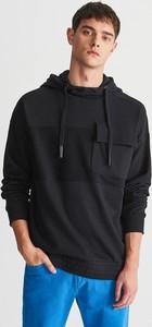 5b3c75d02f7e1 Granatowa bluza Reserved w stylu casual