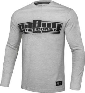 T-shirt Pit Bull West Coast w młodzieżowym stylu z bawełny