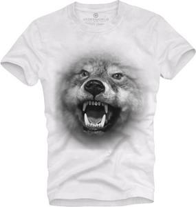 T-shirt Underworld z bawełny z nadrukiem z krótkim rękawem