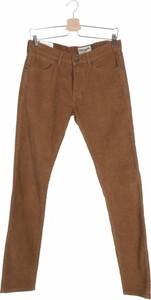 Brązowe spodnie Wrangler ze sztruksu