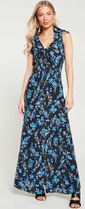 Sukienka V by Very bez rękawów z dekoltem w kształcie litery v maxi