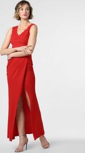 Sukienka Lipsy maxi prosta z dekoltem w kształcie litery v