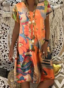 Sukienka Cikelly w stylu casual mini prosta