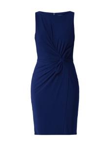 Sukienka Lauren Ralph Lauren ołówkowa z okrągłym dekoltem bez rękawów