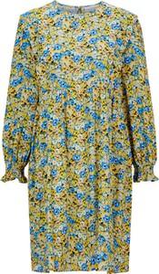 Sukienka Rich & Royal w stylu casual z okrągłym dekoltem mini