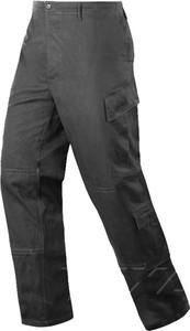 Spodnie Texar z tkaniny w militarnym stylu