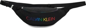 Torebka Calvin Klein na ramię lakierowana