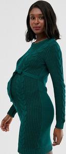 Zielona sukienka Mama Licious