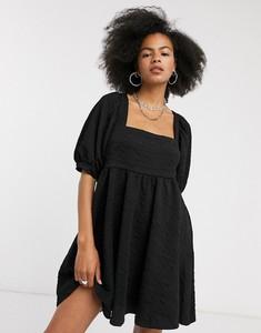 Czarna sukienka Free People z dekoltem w kształcie litery v