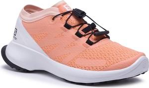 Różowe buty sportowe Salomon