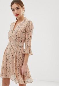 Pomarańczowa sukienka Y.A.S mini