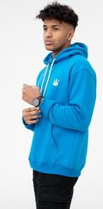 Niebieska bluza Jigga Wear w młodzieżowym stylu
