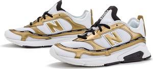 Sneakersy New Balance z płaską podeszwą sznurowane