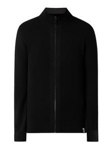 Czarny sweter McNeal w stylu casual