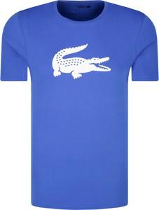 T-shirt Lacoste z krótkim rękawem w młodzieżowym stylu
