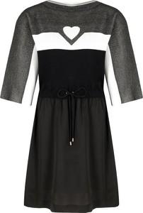 Sukienka Mytwin Twinset w stylu casual z okrągłym dekoltem