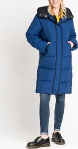 Niebieski płaszcz Lee Jeans w stylu casual