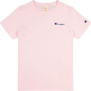 T-shirt Champion z bawełny z krótkim rękawem