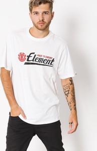 T-shirt Element z bawełny w młodzieżowym stylu z krótkim rękawem