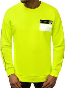 Zielona bluza Ozonee w młodzieżowym stylu