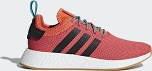 Buty sportowe Adidas Originals sznurowane z nubuku