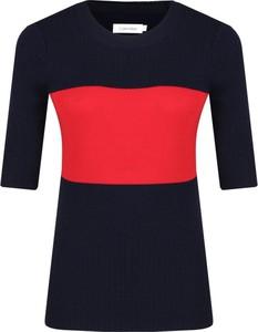 Czarna bluzka Calvin Klein z wełny