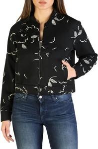 Czarny płaszcz Armani Exchange