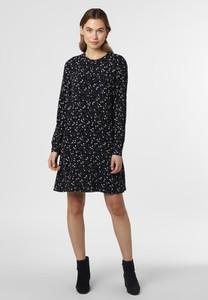 Granatowa sukienka Esprit z okrągłym dekoltem w stylu casual mini