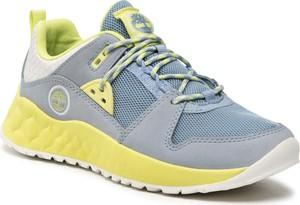 Niebieskie buty sportowe Timberland
