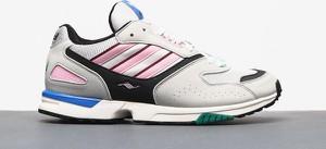 Buty sportowe Adidas Originals sznurowane w młodzieżowym stylu z zamszu