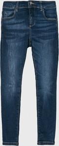 Niebieskie jeansy dziecięce Guess Jeans