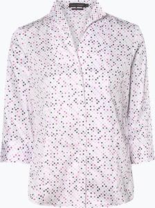 Różowa koszula Franco Callegari z kołnierzykiem