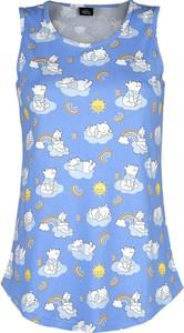 Top Emp z okrągłym dekoltem z bawełny w stylu casual