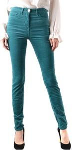 Zielone jeansy Elisabetta Franchi