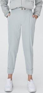 Turkusowe spodnie Sinsay