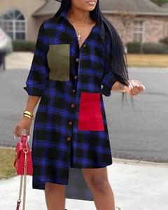 Sukienka Kendallme mini z kołnierzykiem koszulowa