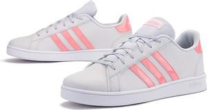 Trampki Adidas z płaską podeszwą niskie