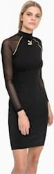 Sukienka Puma z długim rękawem w stylu casual