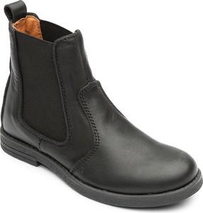 Czarne buty dziecięce zimowe Bundgaard