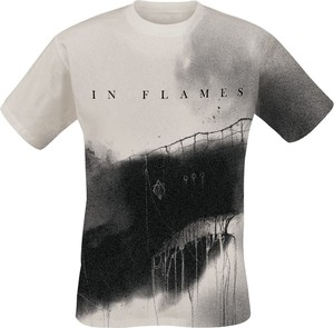 T-shirt In Flames z krótkim rękawem