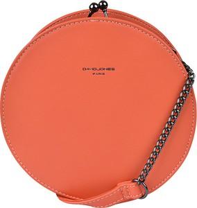 Pomarańczowa torebka David Jones mała