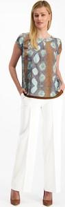 Bluzka Lavard z okrągłym dekoltem