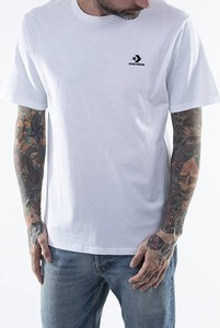 T-shirt Converse w stylu casual z krótkim rękawem