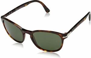 amazon.de Persol męskie okulary przeciwsłoneczne 0PO3148S 901431, czarne (czarne/zielone), 50